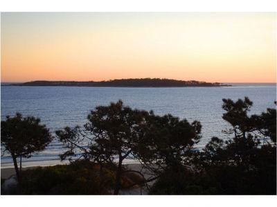 Apartamento en alquiler frente al mar en primera línea con vista a toda la bahía, puerto y Punta Ballena.