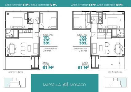 Apartamento en venta, Playa Mansa PUNTA DEL ESTE