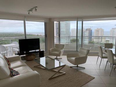 Hermoso Departamento en venta de 3 dormitorios en torre Ocean Drive.