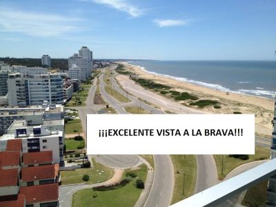 REF. 3374 - BRAVA EXCELENTE VISTA!!! 3 DORMITORIOS Y DEPENDENCIA, AMENITIES